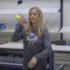 Nadine Petry jongliert.